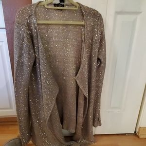 Sparkly sweater top